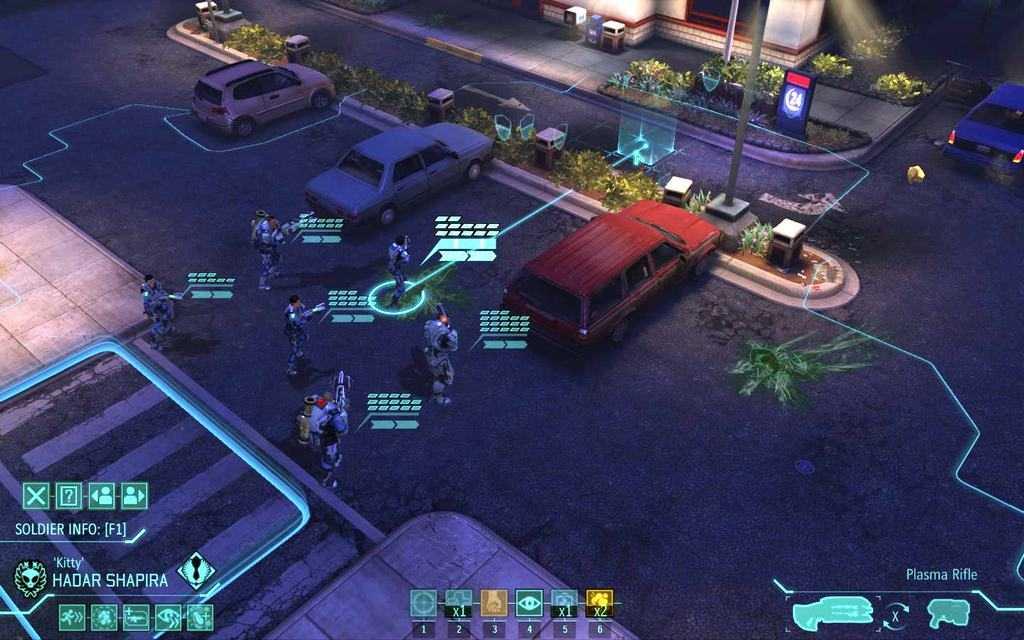 Скриншот игры XCOM Enemy Within
