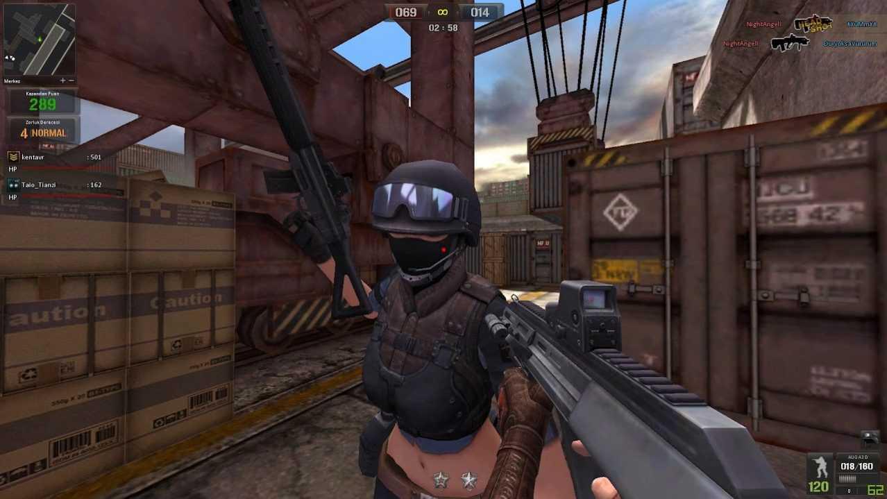 Скриншот из игры PointBlank