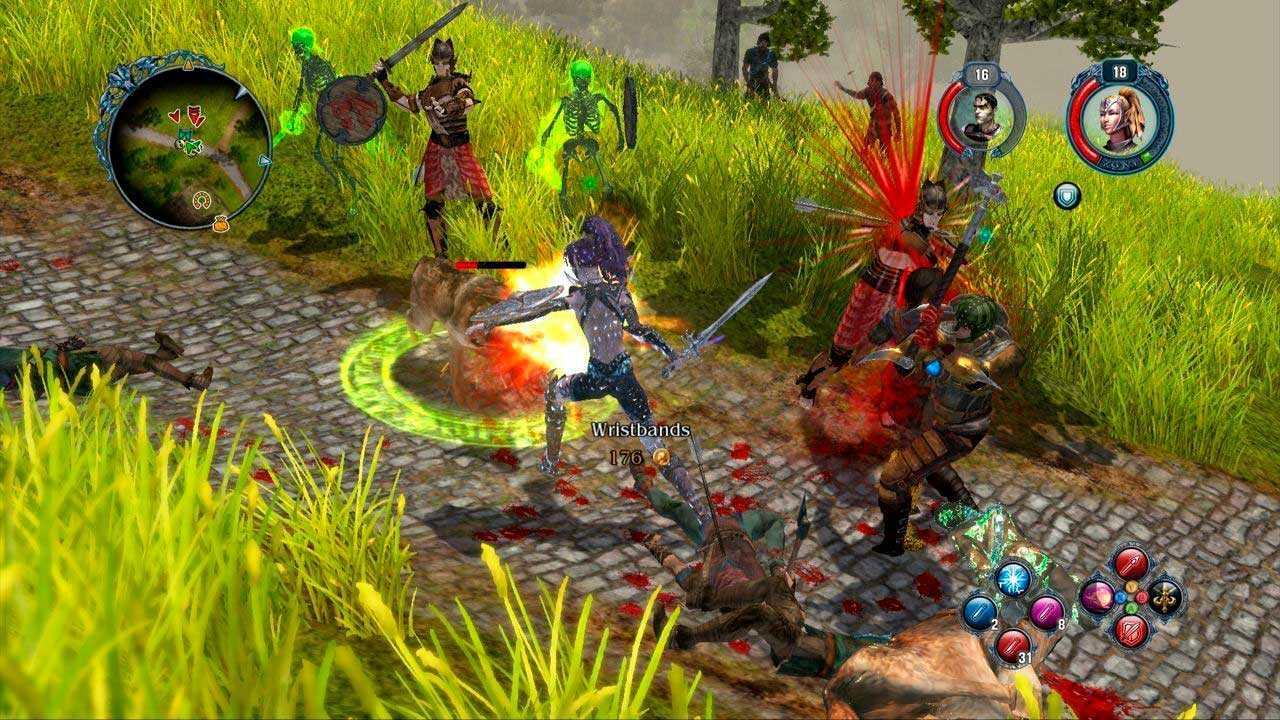 Скриншот из игры Sacred 2