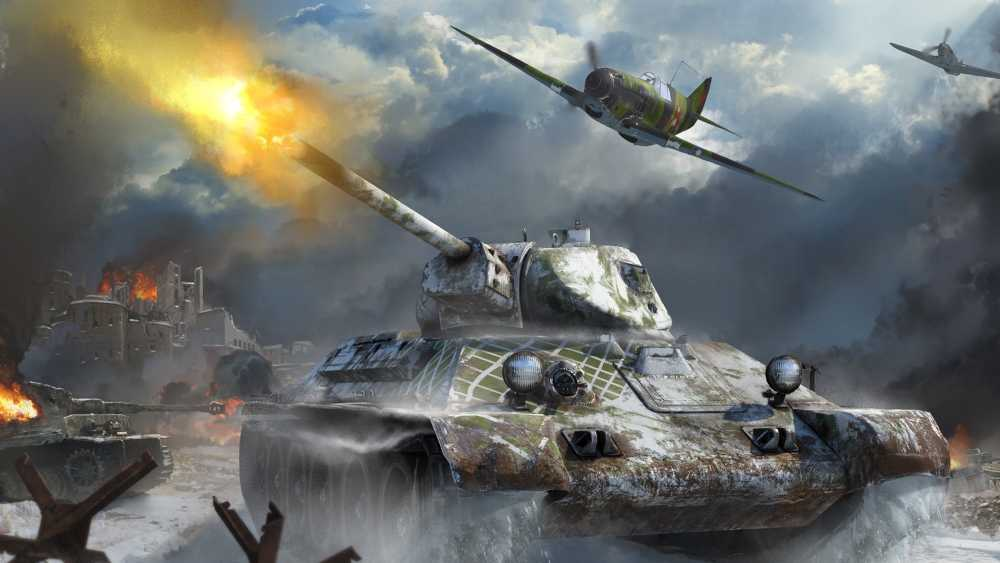 военная стрелялка онлайн War Thunder