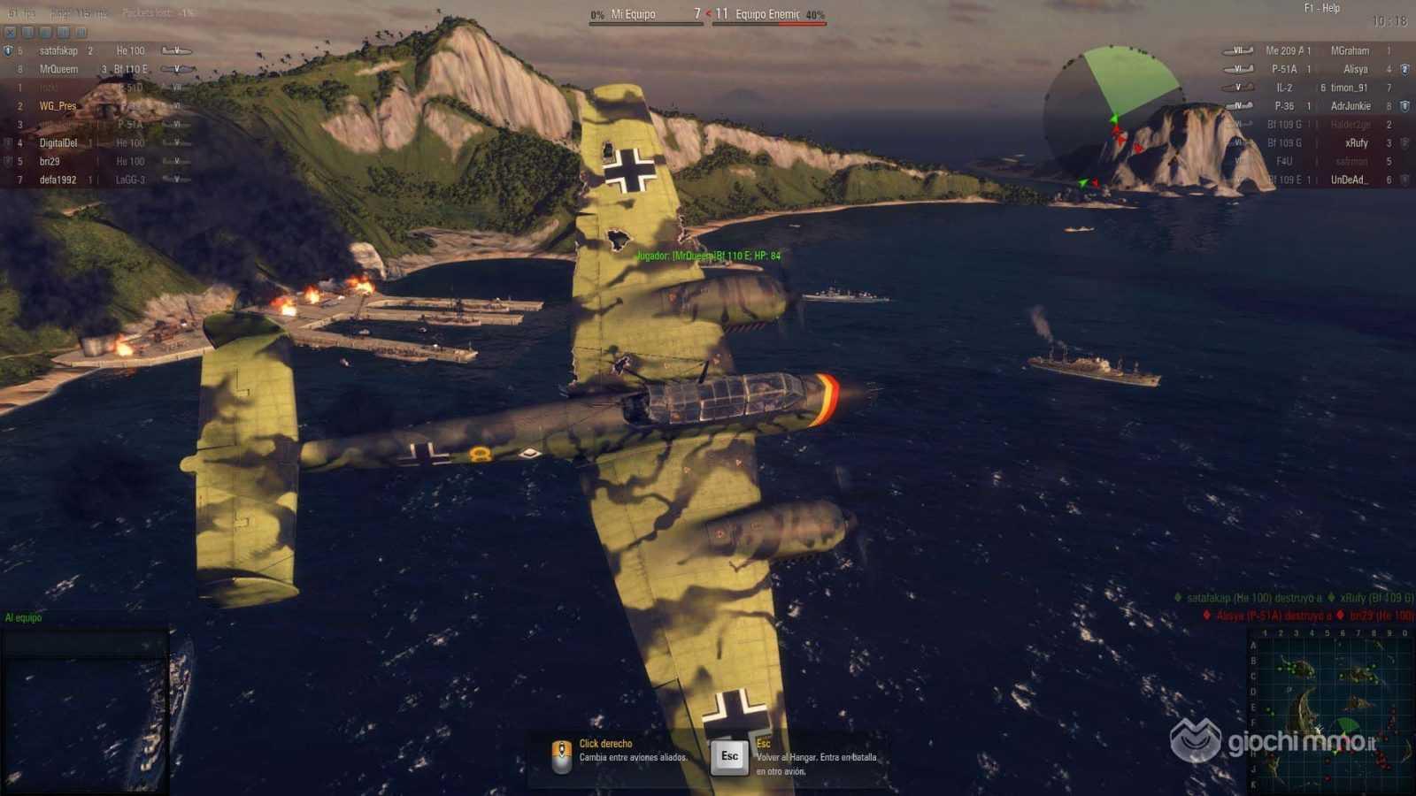 Скриншот WORLD OF WARPLANES