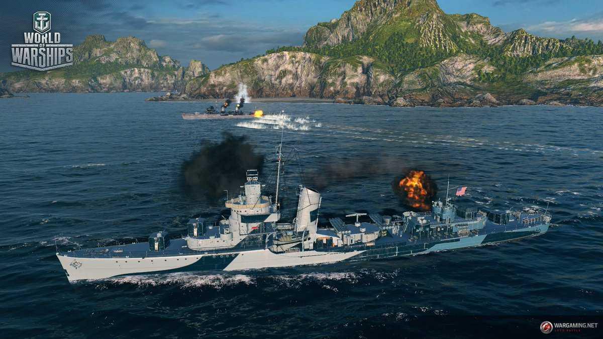 военная стрелялка онлайн World of Warships
