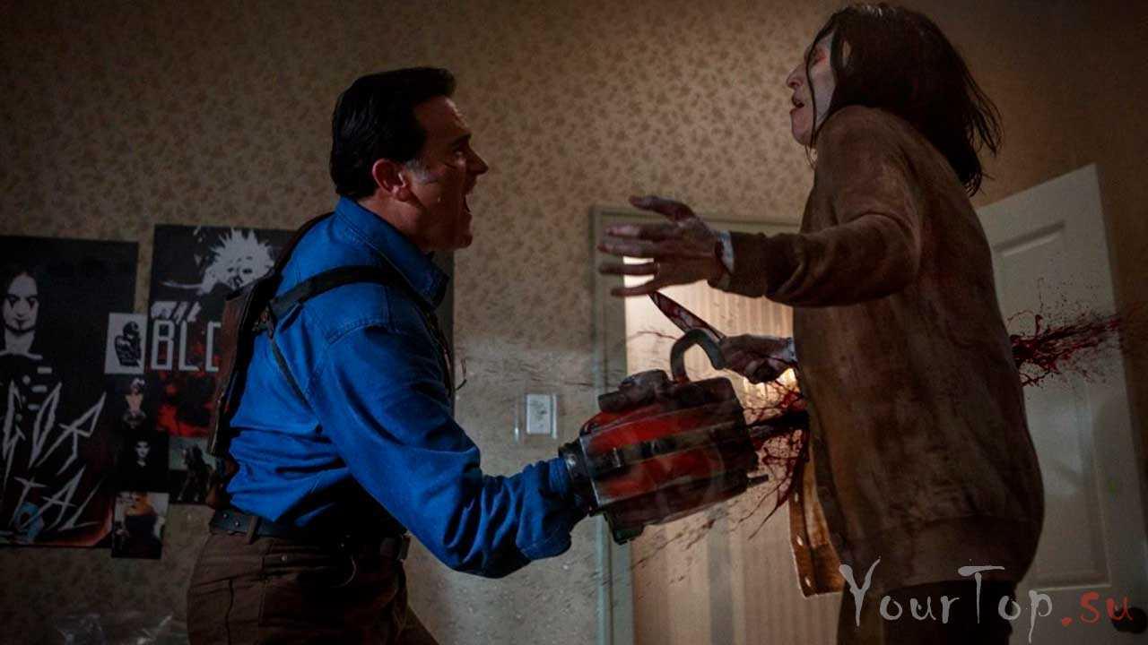 """Сериал про зомби """"Эш против зловещих мертвецов"""""""