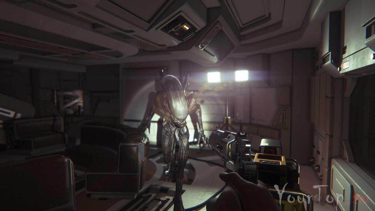 """Хоррор игра """"Alien: Isolation"""""""