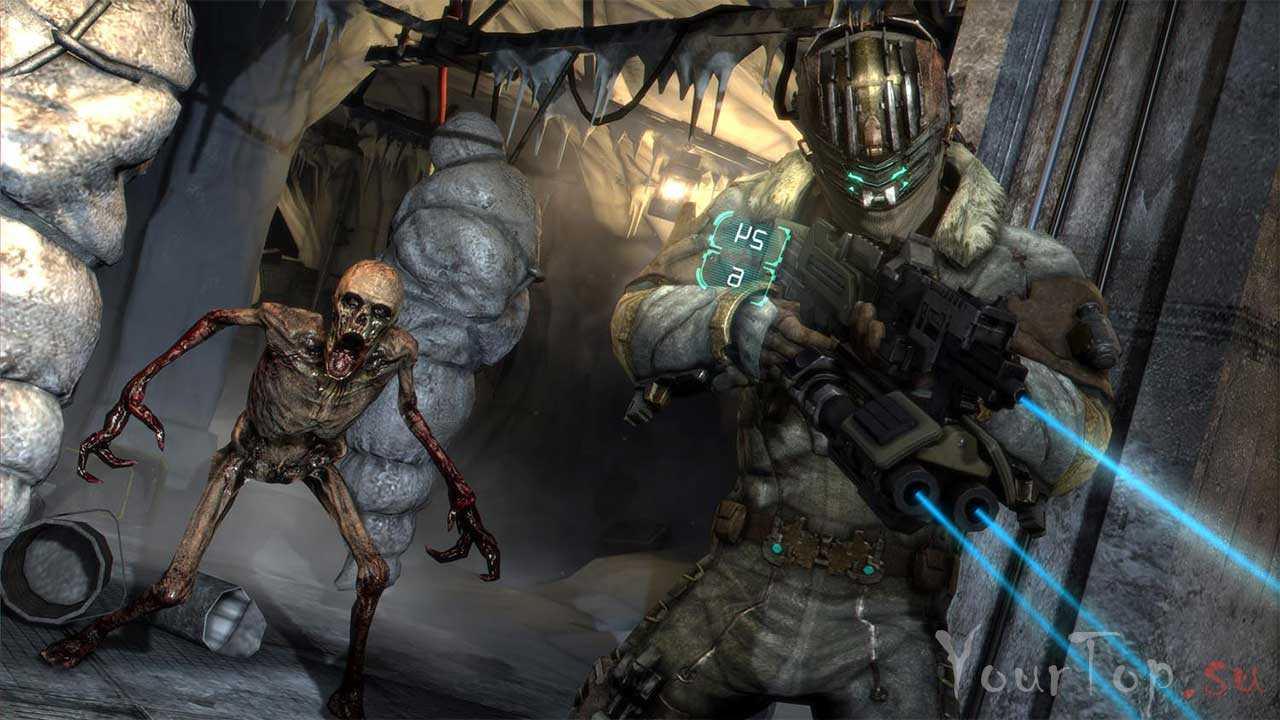 "Хоррор игра ""Dead Space 3"""