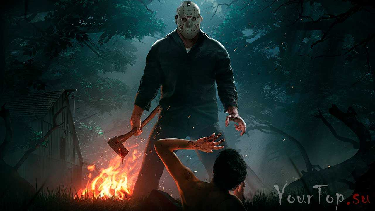 "Многопользовательская хоррор игра ""Friday the 13th: The Game"""