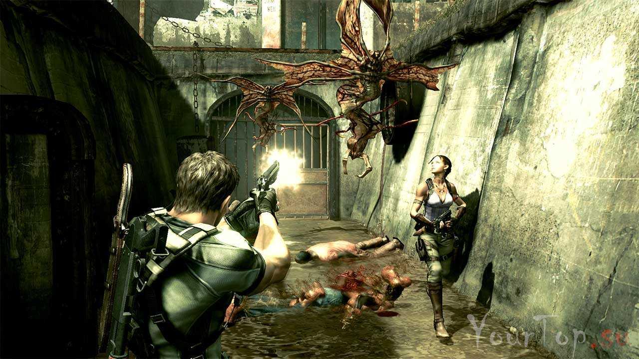 "Хоррор игра ""Resident Evil 5"""