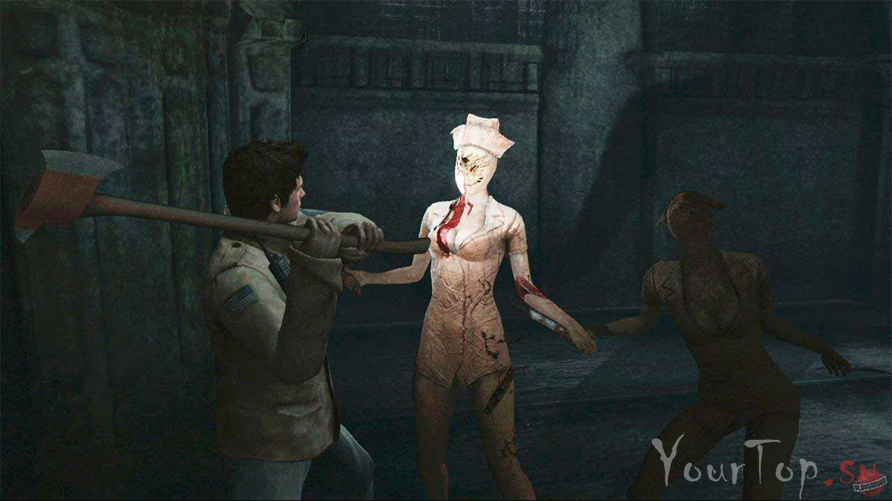 "Хоррор игра ""Silent Hill HOMECOMING"""