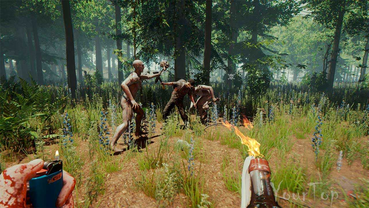 "Хоррор игра ""The Forest"""