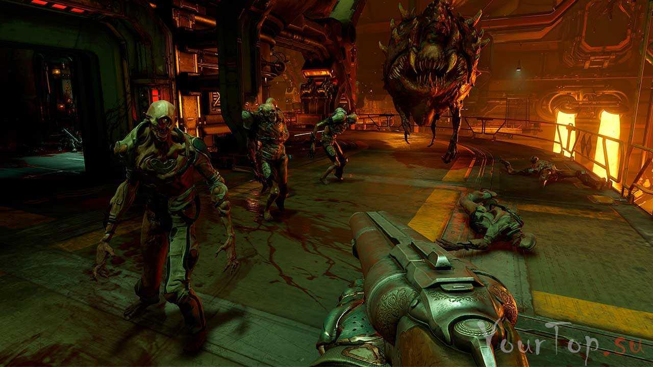 "Хоррор игра ""Doom 4"""