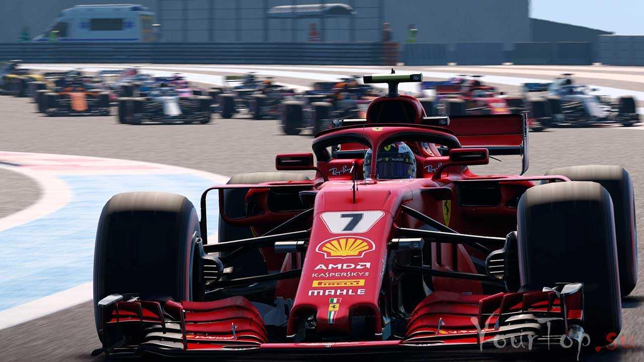 """Лучшие гонки на формула 1 """"F1 2018"""""""