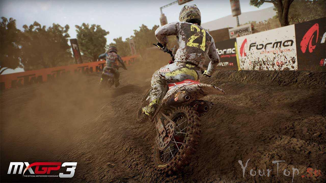 """Лучшие гонки на мотоциклах """"MXGP3 - The Official Motocross"""""""