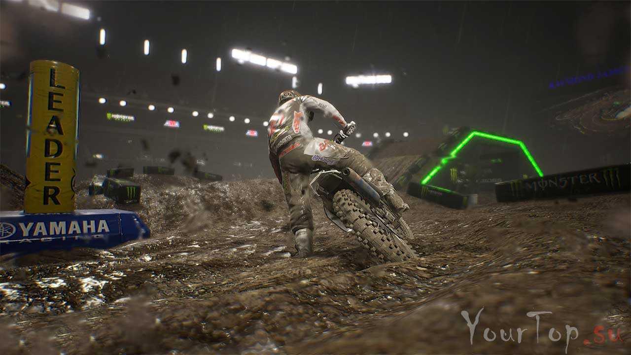 """Новые гонки на мотоциклах """"Monster Energy Supercross 2"""""""