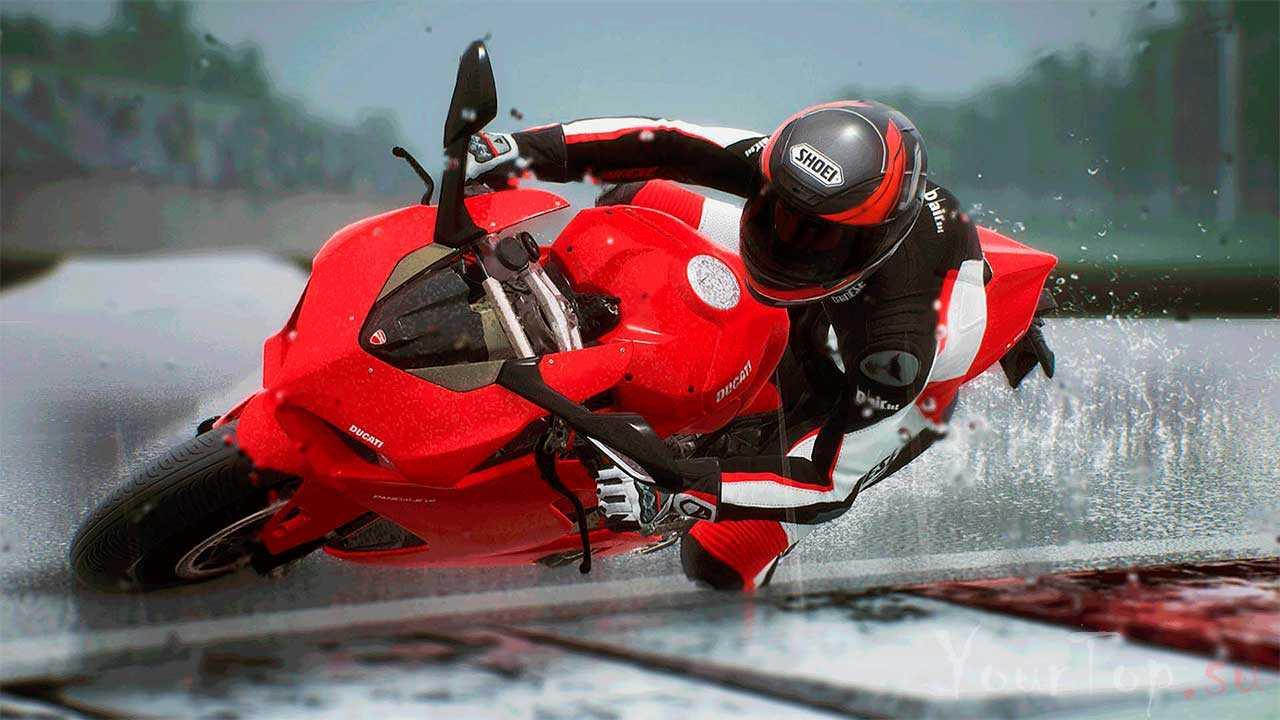 "Крутые гонки на мотоциклах ""Ride 3"""