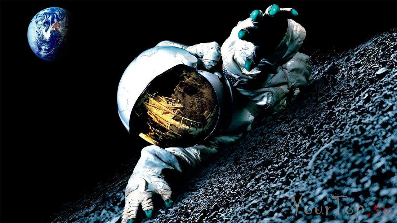 """""""Аполлон 18"""" - отличный фильм про космос и высадку на луну"""