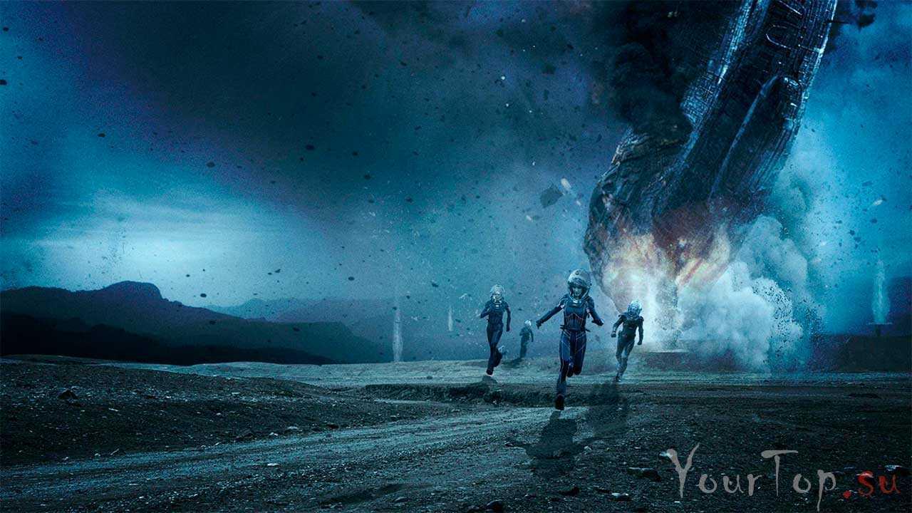 """""""Прометей"""" - Фильм про космос и полёт на другую планету."""