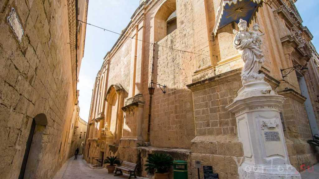 Древняя столица Мдина (фото 3)