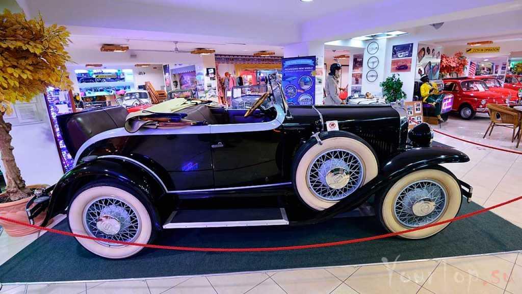 Музей ретро автомобилей в Мальте (фото 3)