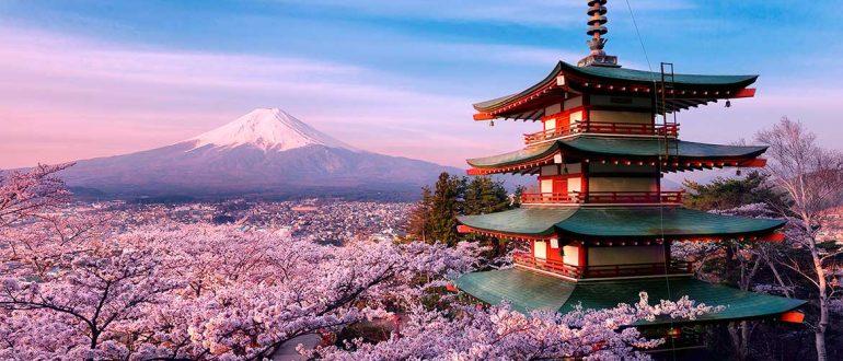 ТОП 5 лучших мест Японии