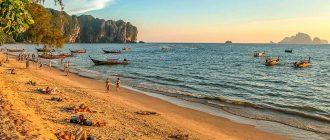 ТОП 5 лучших пляжей в Краби