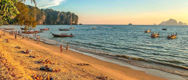 ТОП 5 лучших пляжей в Краби, Таиланд