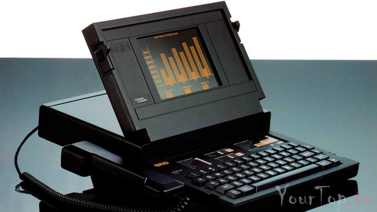 """Первый ноутбук в мире """"Grid Compass"""""""