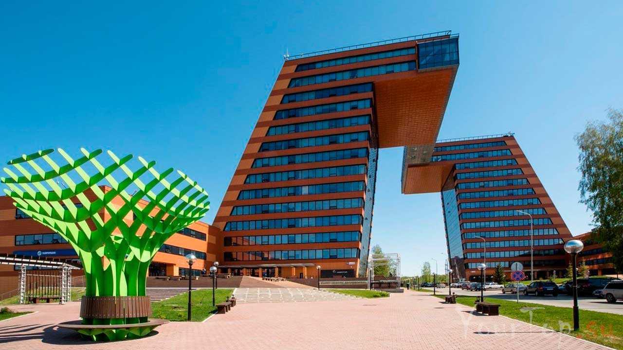 Академический городок в Новосибирске