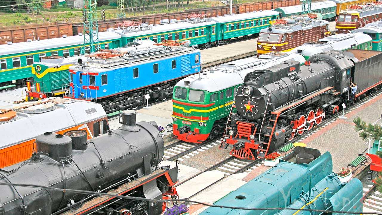 Музей железнодорожной техники в Новосибирске
