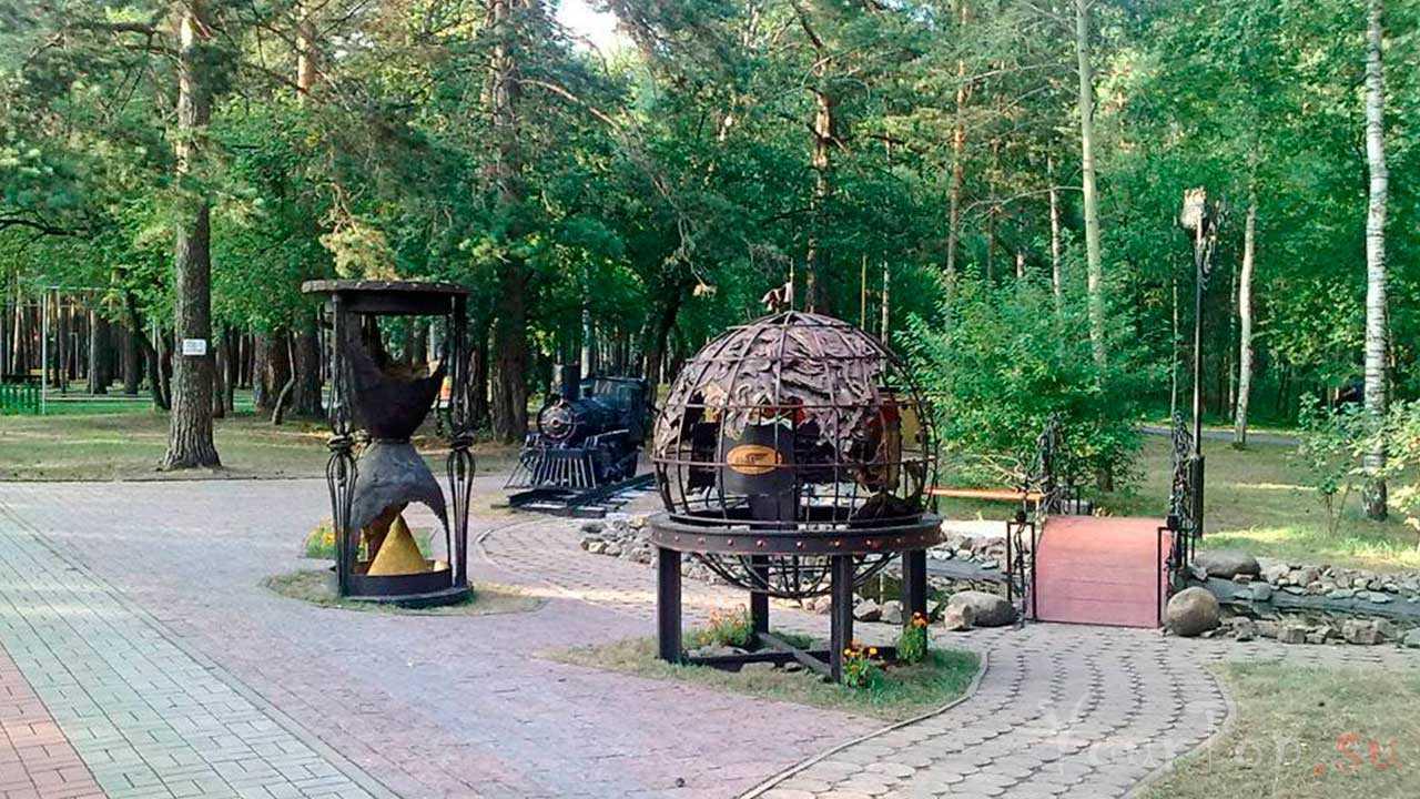 Заельцовский парк в Новосибирске
