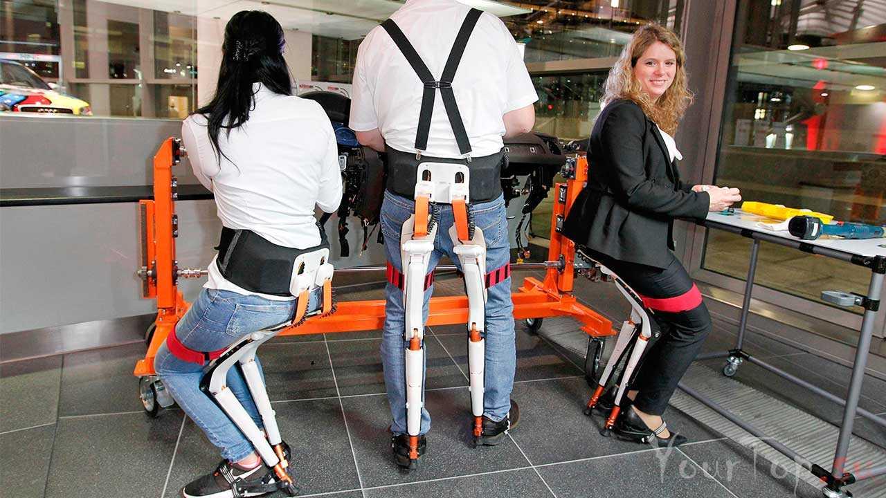 Новое бионическое сиденье