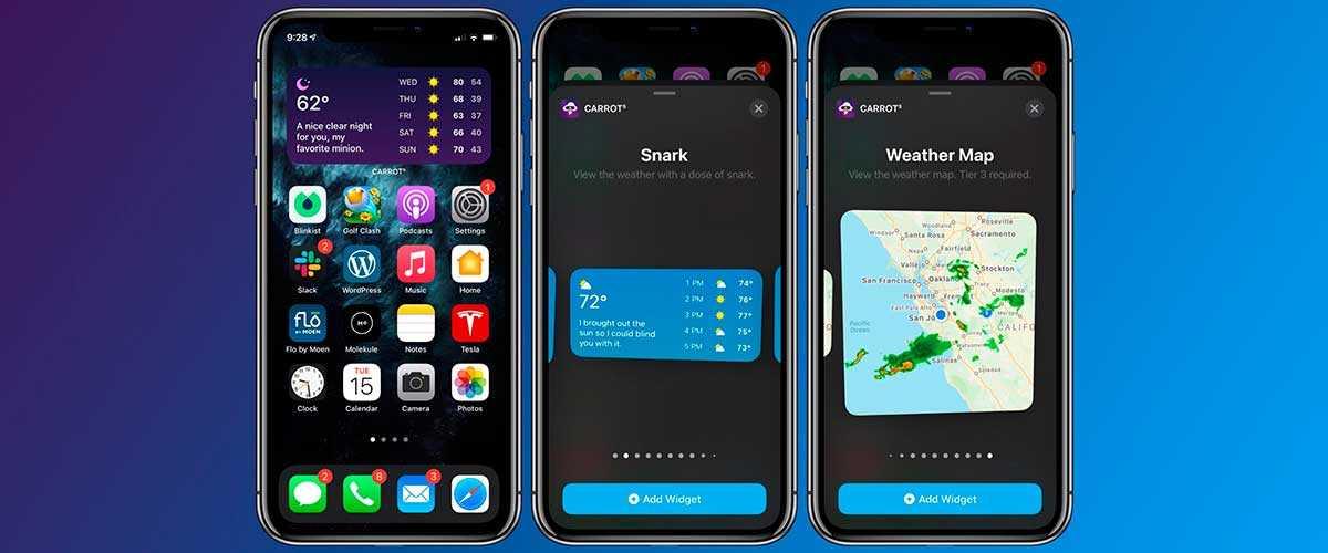 3 основные функции на смартфонах